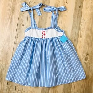 """NWT Kelly's Kids top sz 6/7 """"letter G"""""""